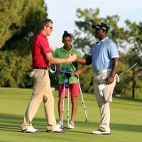 Disabled golfers join in at Portugal Masters