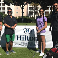 Memorable day in the sun for Hilton Vilamoura at Pinhal