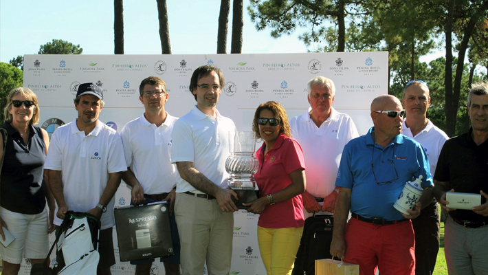 JJW celebrates success of inaugural Algarve golf tournament