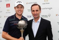 England's Steven Brown in Dreamland at the Portugal Masters